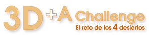 Logo 3D+A Challenge
