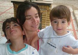 Foto de Edu y su familia